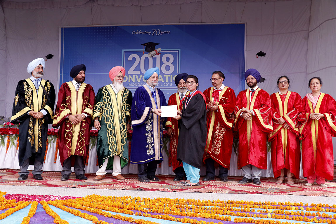 962 CONFERRED DEGREES AT CONVOCATION OF GHG KHALSA COLLEGES