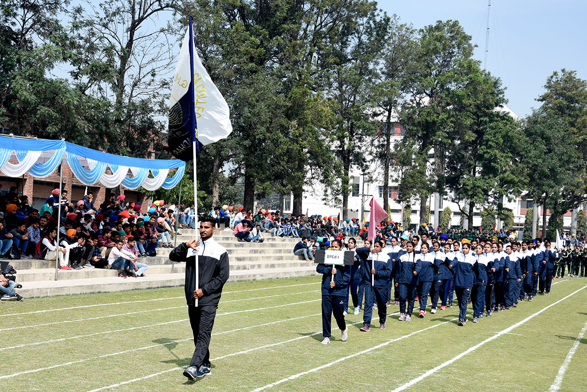 GHG KHALSA COLLEGES 68TH ANNUAL ATHLETIC MEET COMMENCES