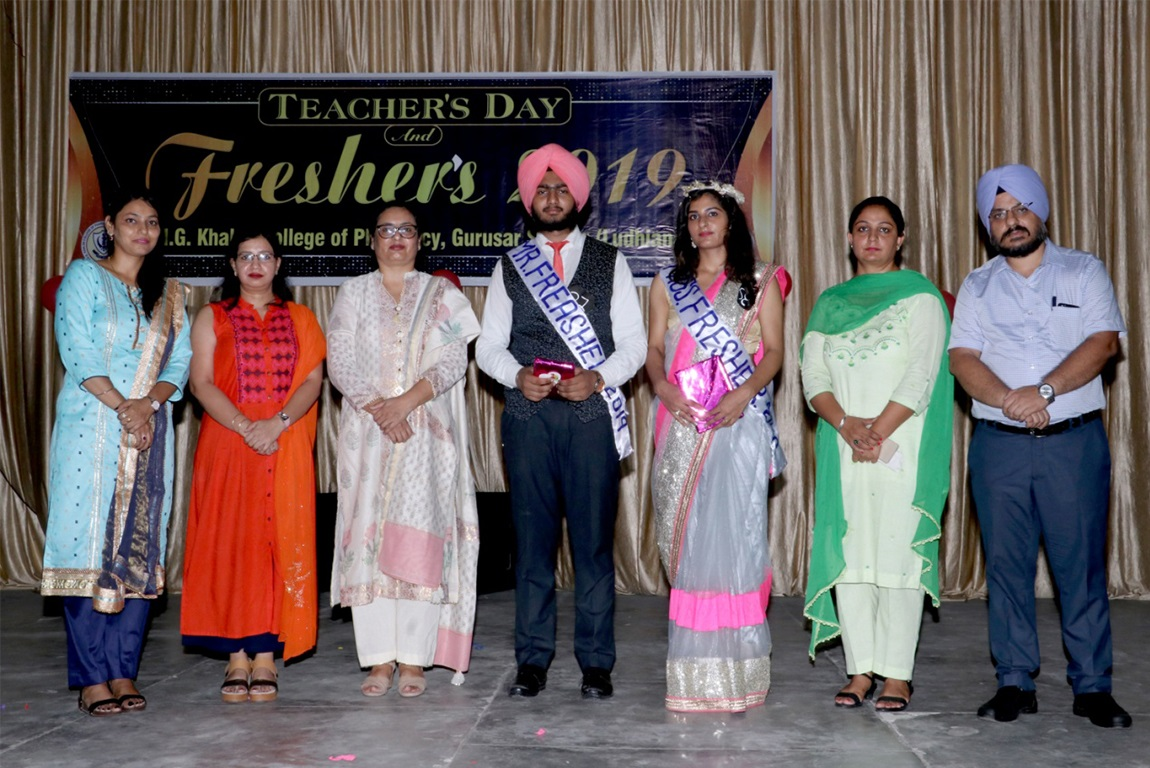 G.H.G Khalsa College of Pharmacy Gurusar Sadhar hosted its Fresher's Party and celebrated Teacher's day