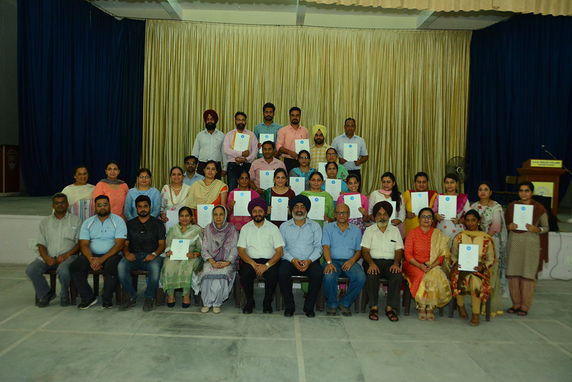 3-DAYS WORKSHOP CONCLUDES